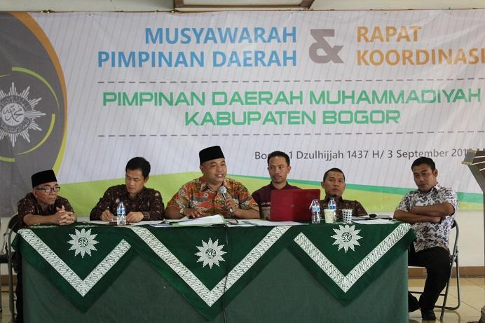 Mohamad Gofar dan Naufal Ramadian Optimis Majukan Muhammadiyah Kabupaten Bogor