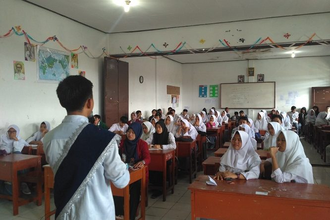 Mahasiswa STKIP Muhammadiyah Bogor Berikan Penyuluhan Mengenai Kenakalan Remaja