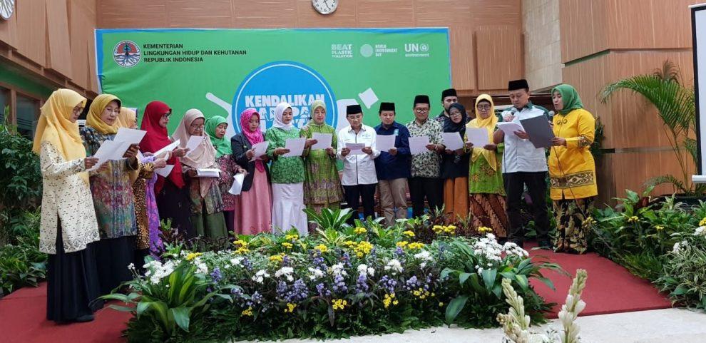 PP Muhammadiyah dan PBNU Gelar Deklarasi Pengurangan Sampah Kantong Plastik