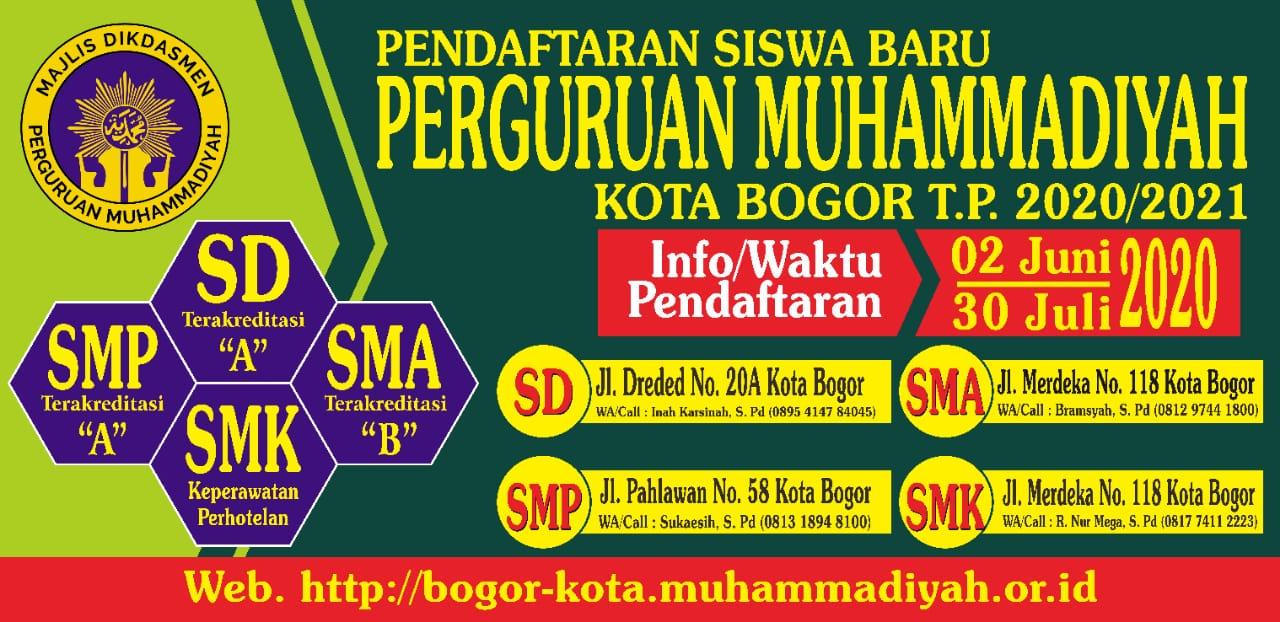 SMA Muhammadiyah Kota Bogor Relokasi Ke Merdeka